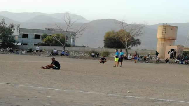 إقليم تارودانت: السلطة المحلية توقف دوري لكرة القدم بسبب عدم احترام التدابير الاحترازية من كورونا