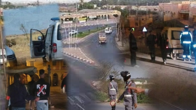 الشرطة والدرك يضعان حدا لمروجي مخدرات في آيت ملول