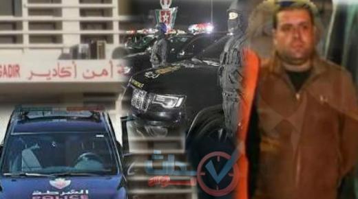 تعيين العميد أحمدأيت سعيد رئيسا لفرقة مكافحة العصابات بأكادير