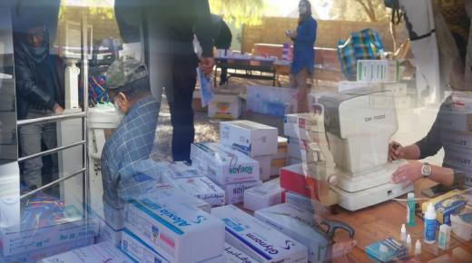اولاد تايمة…الجمعية المغربية الندى تخلق الحدث و تنظم قافة صحية متعددة التخصصات بدواوير جماعة سيدي احمد اعمر.