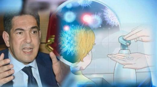 """أمزازي يزود المدارس بالصابون للحماية من """" كورونا """""""