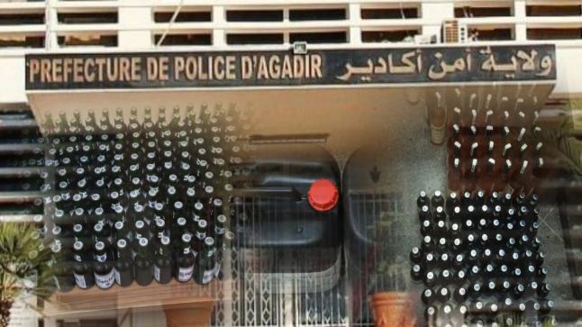 أكادير: فرقة مكافحة العصابات تضرب بقوة وتحجز مخدرات و خمور غير مرخصة