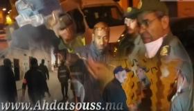 بالفيديو .. أقوى التدخلات للعناصر الأمنية والسلطة المحلية بالدشيرة وإعتقالات بالجملة