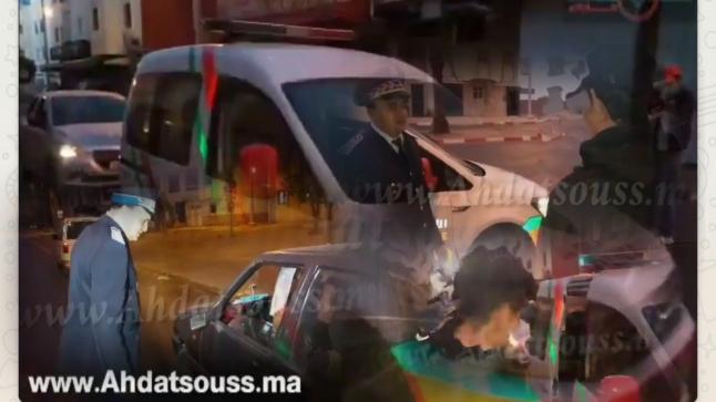بالفيديو .. رجال أمن أكادير يشنون حملة شرسة على مخالفي حالة الطوارئ