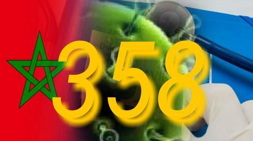 كورونا-المغرب: تسجيل 13 حالة جديدة مصابة ترفع الحصيلة إلى 358 حالة مؤكدة