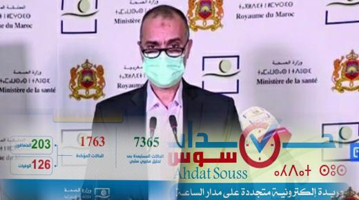 فيروس كورونا: 102 حالات إصابة جديدة بالمغرب خلال الـ24 ساعة الماضية ترفع الحصيلة الاجمالية إلى 1763 حالة