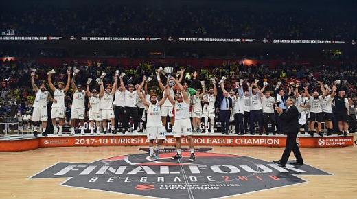 """إلغاء موسم بطولة أوربا """"يوروليغ"""" لكرة السلة بسبب فيروس كورونا"""