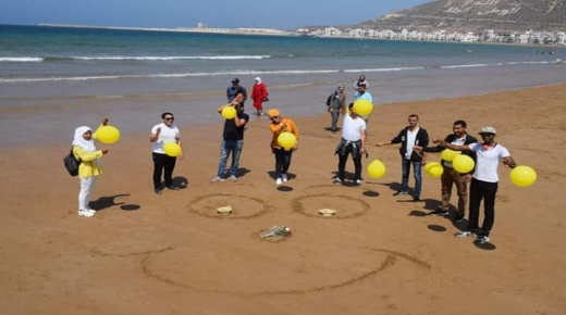 """"""" أكادير تبتسم """" مبادرة شبابية تتجدد في أكادير"""