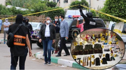 تفاصيل تفكيك لخلية إرهابية تنشط في أربع مدن و خمسة مشتبه فيهم رهن الاعتقال.
