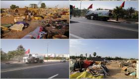 سلطات إقليمية تشن حملة نظافة واسعة في إنزكان