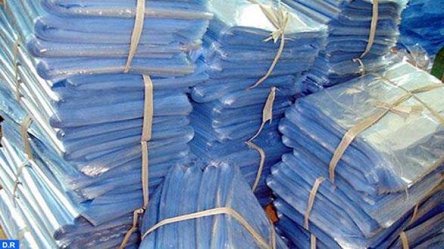 الدار البيضاء.. حجز كميات من الأكياس البلاستيكية بمعمل سري بحي ليساسفة