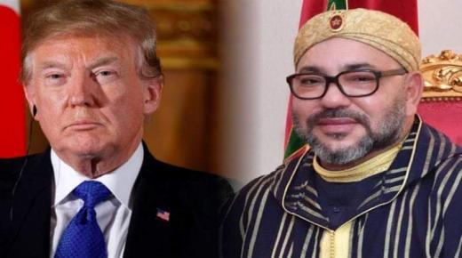 """ترامب يعترف ل """" محمد السادس """" بمغربية الصحراء"""