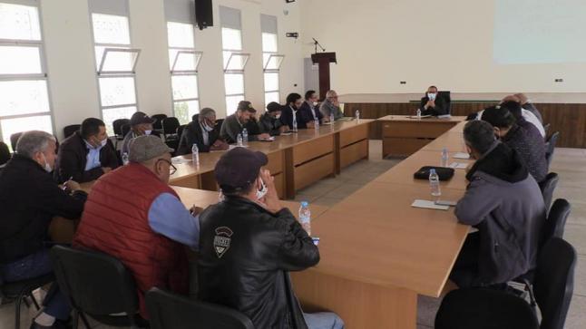 لقاءات تواصلية لتنفيذ القانون الإطار 51.17 بمديرية التعليم لإنزكان