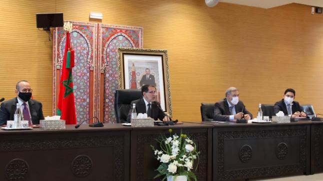 العثماني يجتمع مع قادة الأحزاب لبحث التطورات الأخيرة بالكركرات