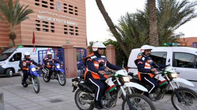 تغييرات مرحلية في مصلحة الشرطة القضائية بمراكش خلال الطوارئ الصحية