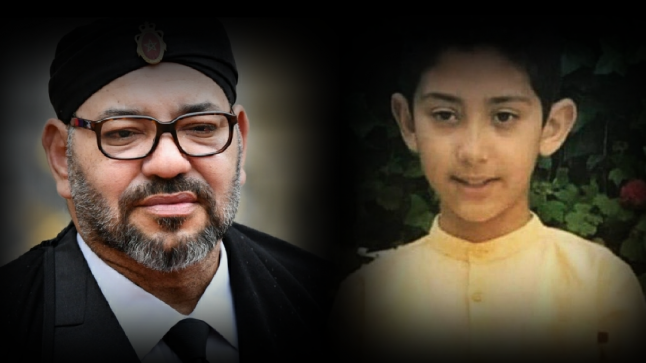 جلالة الملك محمد السادس يبعث برقية تعزية ومواساة إلى أفراد أسرة المرحوم الطفل عدنان بوشوف.