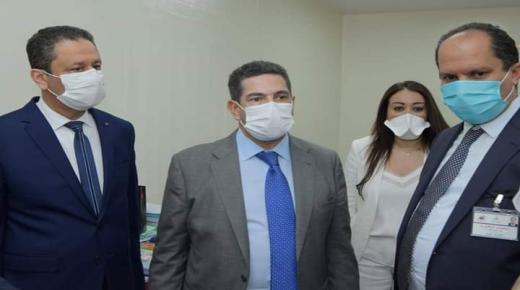 أمزازي في زيارة تفقدية لمراكز الإمتحانات بأكادير