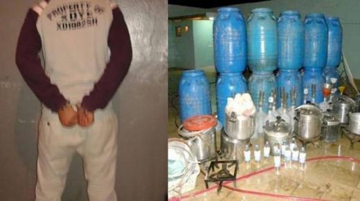 """توقيف """" كراب """" ينشط في توزيع ماء الحياة نواحي تزنيت"""