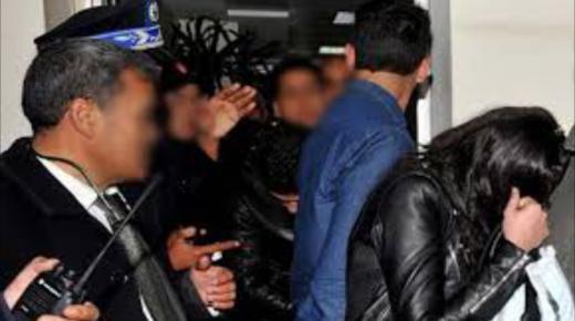 اكادير : توقيف فتاة رفقة 4 أشخاص في حالة سكر الحقوا اضرارا بممتلكات الغير