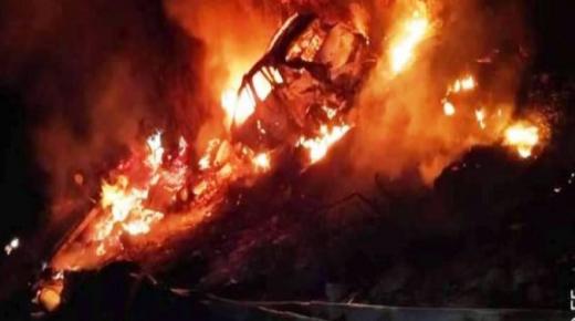 بالفيديو:أوتوروت مراكش/أكادير ينجو من كارثة