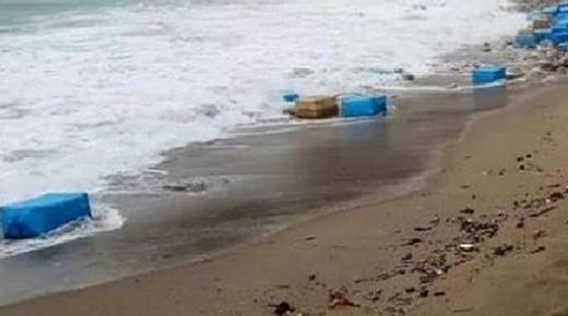 رزم الكوكايين التي لفظها شاطئ سيدي رحال تقود رجل أعمال وإبنه للاعتقال