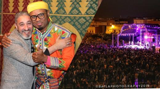 سعيد الصنهاجي ورباب فزيون يلهبان جمهور مهرجان إنزكان للتسوق في السهرة الختامية