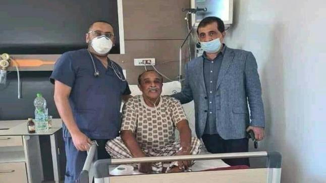 بلاغ حول الحالة الصحية للفنان سعيد الناصري