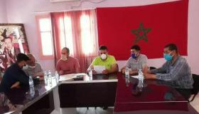 """إحداث نقطة """" إطفاء الحرائق """" بجماعة آيت وادريم"""