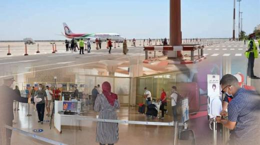 بروتوكول صحي منقطع النظير بمطار المسيرة في أكادير