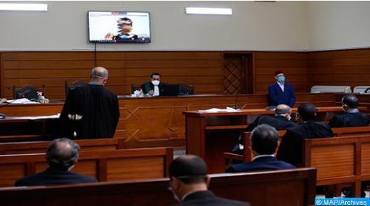 5085 معتقلا استفادوا من 223 جلسة عن بعد بمختلف محاكم المملكة من 17 إلى 19 غشت