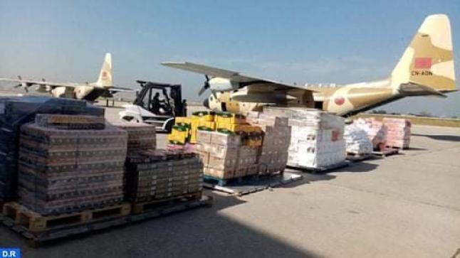 بيروت : وصول آخر دفعة من المساعدات الغذائية وقائد الجيش اللبناني يعرب عن شكره وامتنانه لجلالة الملك
