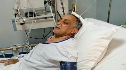 """الفنان """" الشاطر """" يعاني في صمت بمشفى مراكش"""