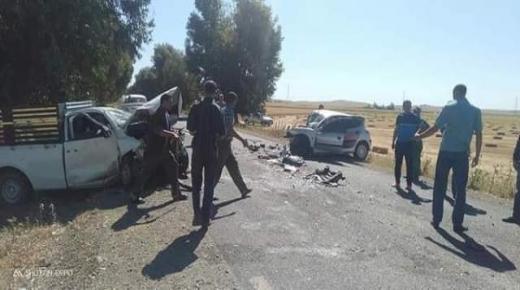 وفاة أستاذة ونجاة طفليها في حادثة سير مؤلمة