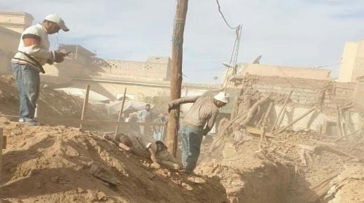 إنهيار سور قديم يقتل مواطنا في تارودانت