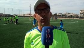 بالفيديو .. أجواء اليوم الأول لإفتتاح مدرسة دفاع أمسرنات لكرة القدم