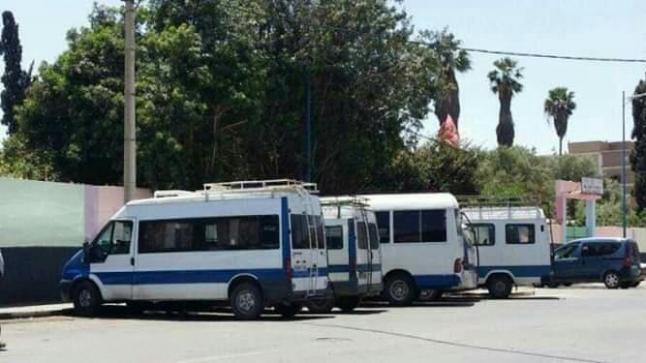 أصحاب النقل السري يخوضون إضرابا نواحي تارودانت