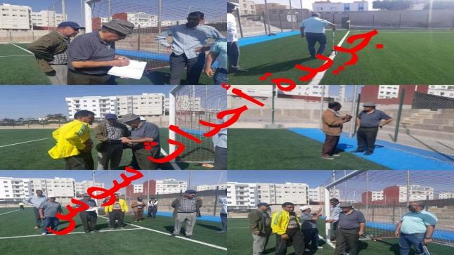 لجنة تأهيل الملاعب بعصبة سوس لكرة القدم تصادق على إستقبال ملعب سيدي يوسف للمباريات الرسمية