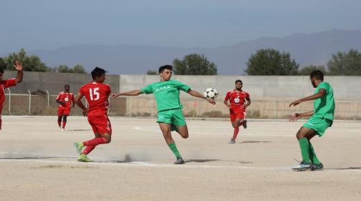القسم الشرفي الممتاز لعصبة سوس لكرة القدم: شباب ايت ايعزة يتفوق على أمجاد هوارة