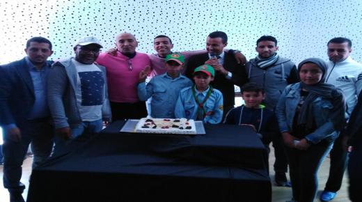جمعية الجيل الصاعد تكرم قيدوم مشجعي حسنية أكادير يوسف طقطوقة