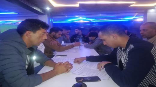 انزكان : ابقال سعيد رئيسا للفرع المحلي للهيئة المغربية للشباب الملكي الصحراوي
