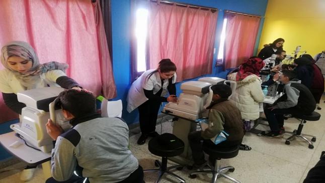 شيشاوة: مجموعة مدارس بوابوض قافلة طبية متعددة الاختصاصات والمسفيدون 680 تلميذ