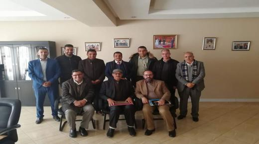انزكان : المدير الإقليمي للتعليم يعقد لقاء مع النقابة الوطنية لأطر الادارة التربوية