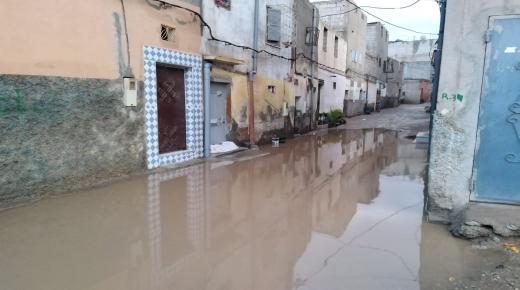 أمطار الخير تعري هشاشة البنية التحتية بأولاد تايمة