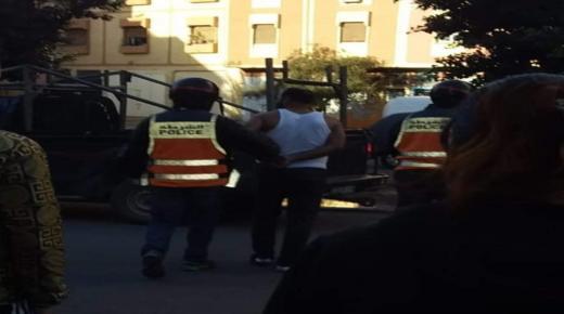 ايت ملول : البوليس يكشف رجلا يختفي خلف خمار لامتهان التسول