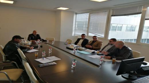 لجنة الإعلام والتواصل بالعصبة الوطنية لكرة القدم هواة تعقد اجتماعها الأول لهذا الموسم( بلاغ)