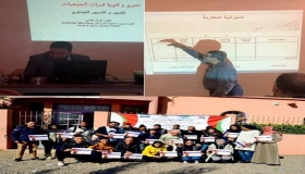 التسيير الاداري والمحاسباتي للجمعيات موضوع دورة تكوينية باولاد دحو ( ملتقى ربيع الطفولة والشباب)