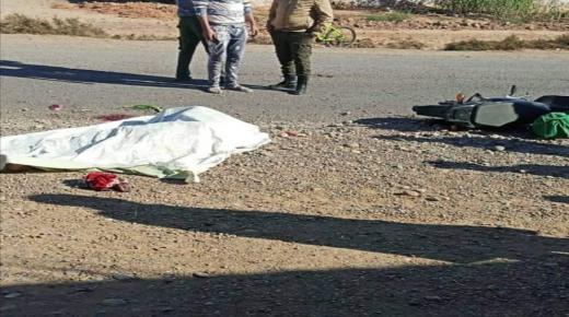 عاجل.. مصرع شخص وإصابة آخر في حادثة سير خطيرة بجماعة سيدي موسى الحمري ضواحي أولاد تايمة
