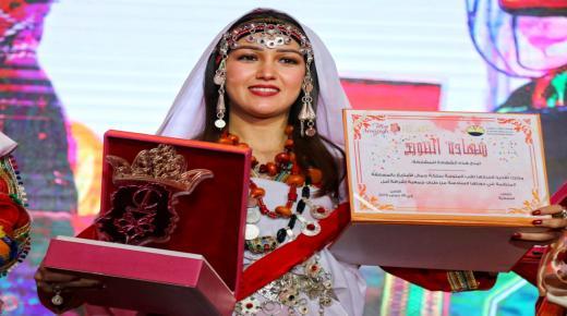أول خروج إعلامي لملكة جمال الأمازيغ لسنة 2019