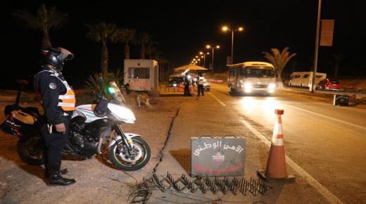 بالفيديو : أكادير سدود قضائية وإدارية وإحترازات أمنية عبر جل مداخل المدينة ليلة رأس السنة .