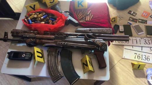 طنطان : توقيف شبكة خطيرة للاتجار في المخدرات والقتل العمد وبحوزتها أسلحة نارية